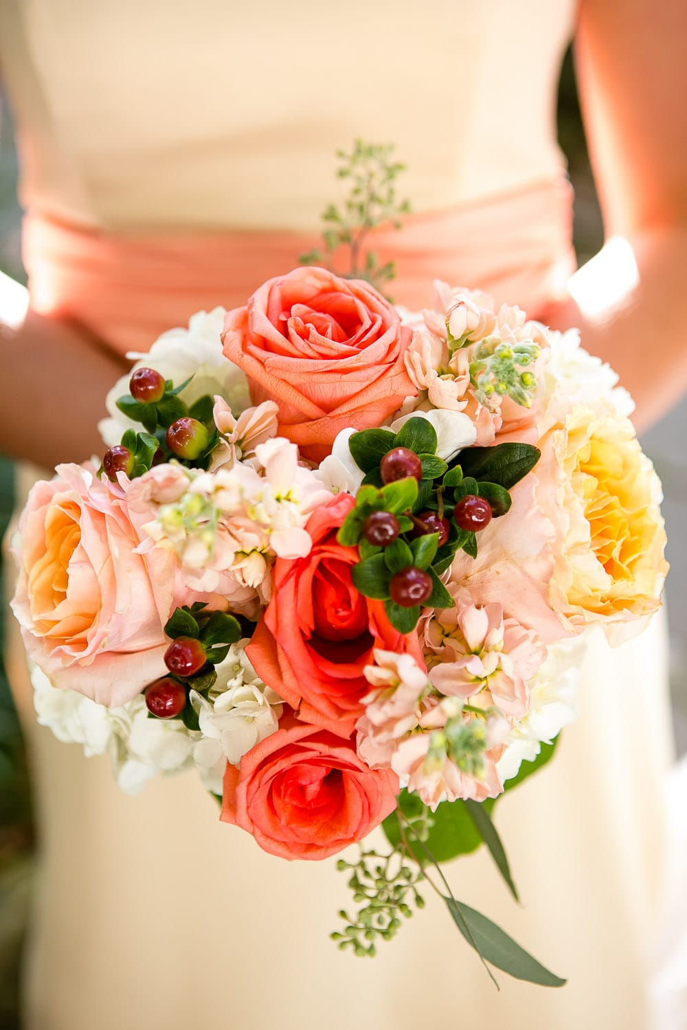 Enchanted Florist Color Inspiration Peach Coral And Orange