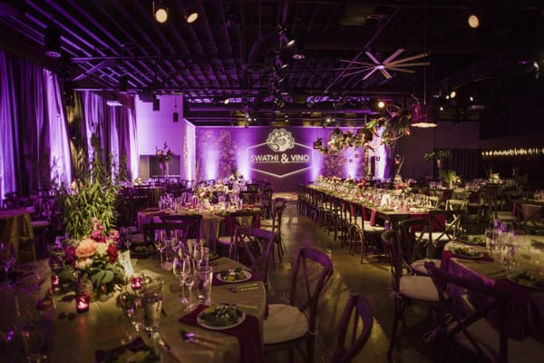 Enchanted Florist Opulent Indian Wedding Reception The Rosewall