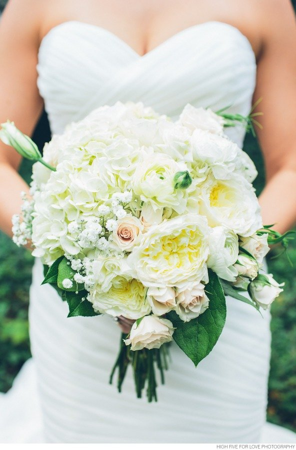 Enchanted Florist, Black and White Wedding at Cheekwood Nashville, HFFL (14)
