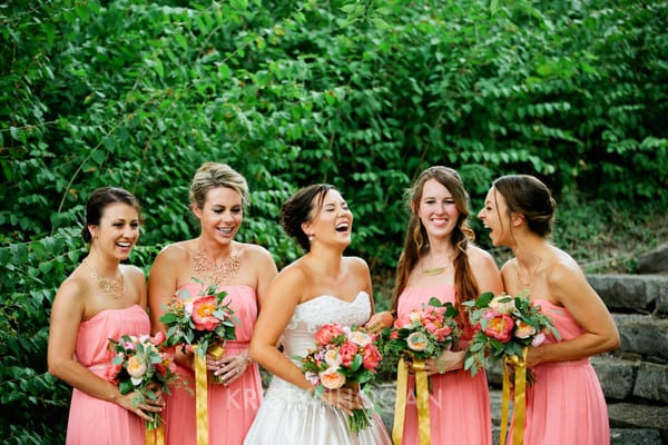 Enchanted Florist, Pink Wedding Downtown Nashville, Kristyn Hogan Photography (1)