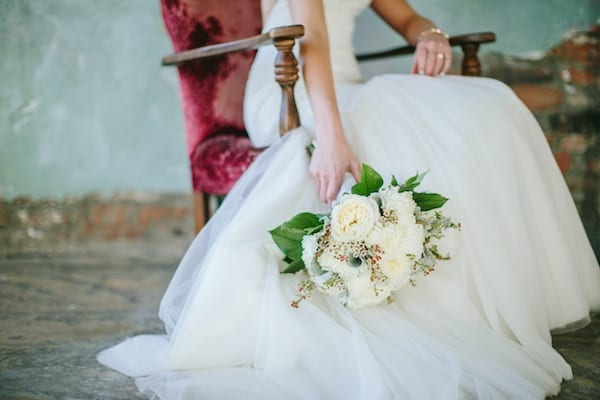 Enchanted florist all white weddings all white urban chic wedding at houston station junglespirit Images