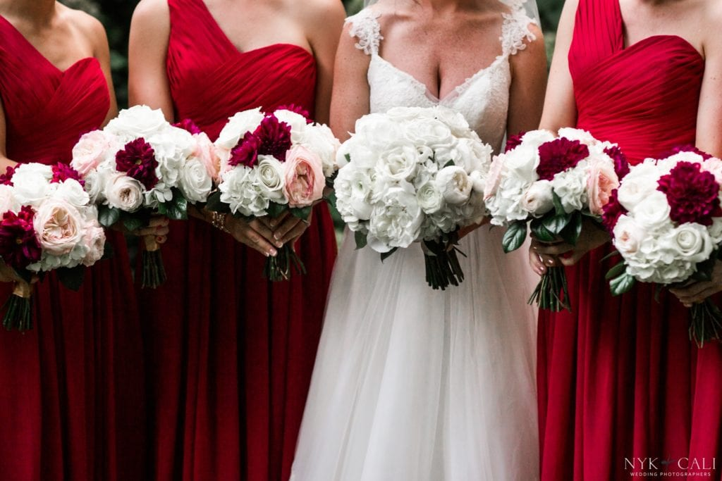 Enchanted florist traditional elegance wedding at the riverwood red white and blush wedding flowers by enchanted florist tn mightylinksfo