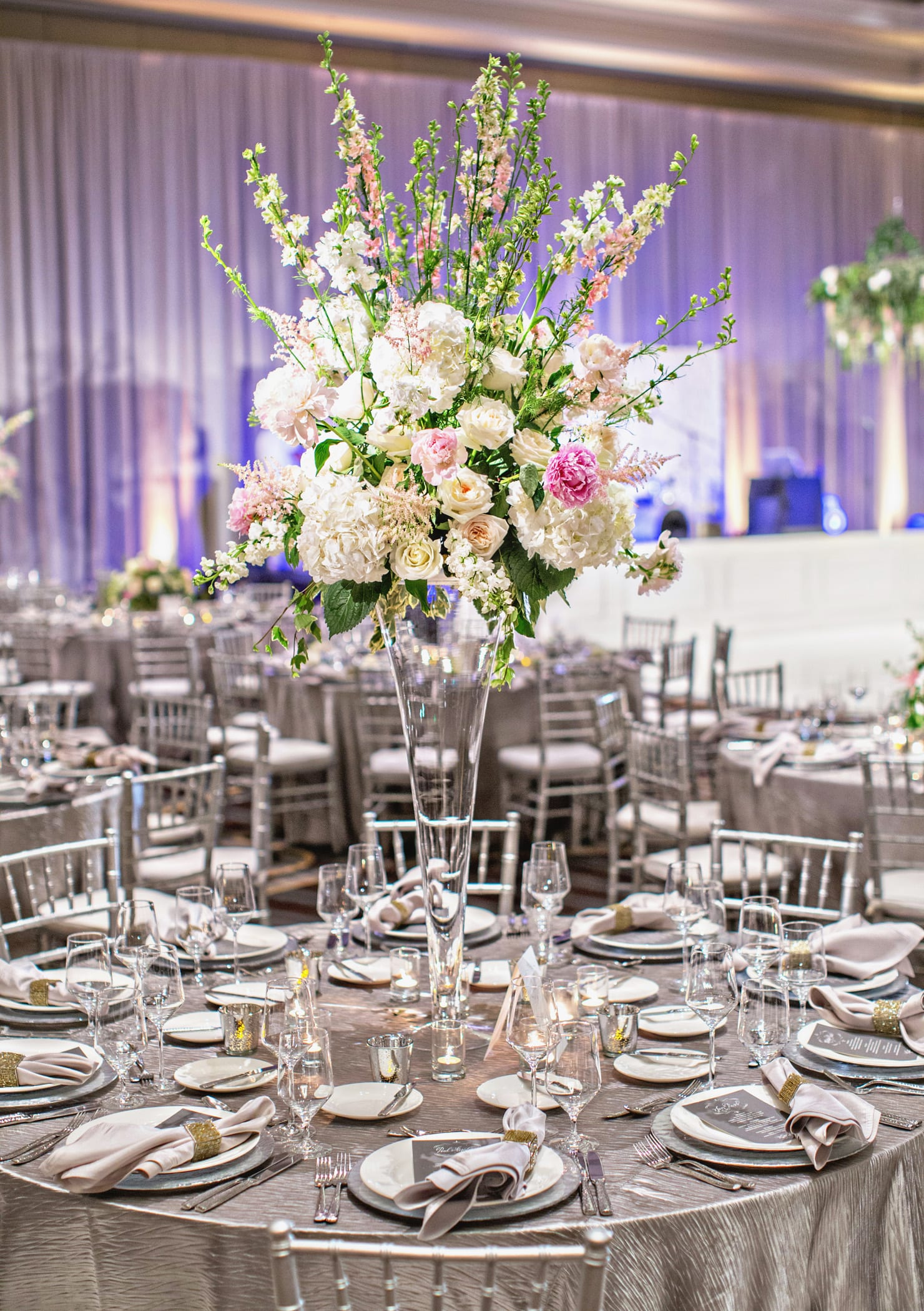 luxe southern wedding florist