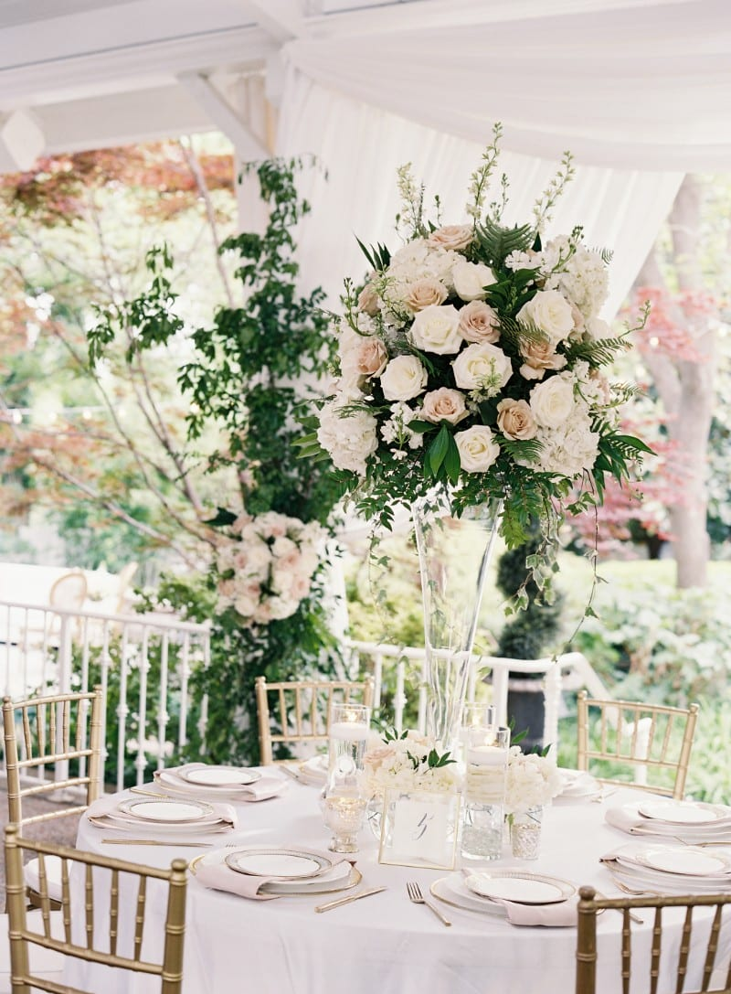 Enchanted florist weddings white flowers white and dusty mauve garden wedding real wedding at cjs off the square mightylinksfo