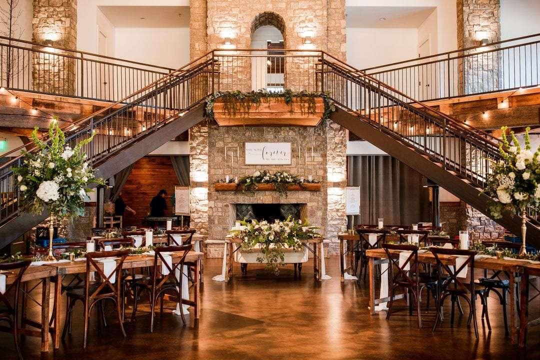 graystone quarry wedding venue reception