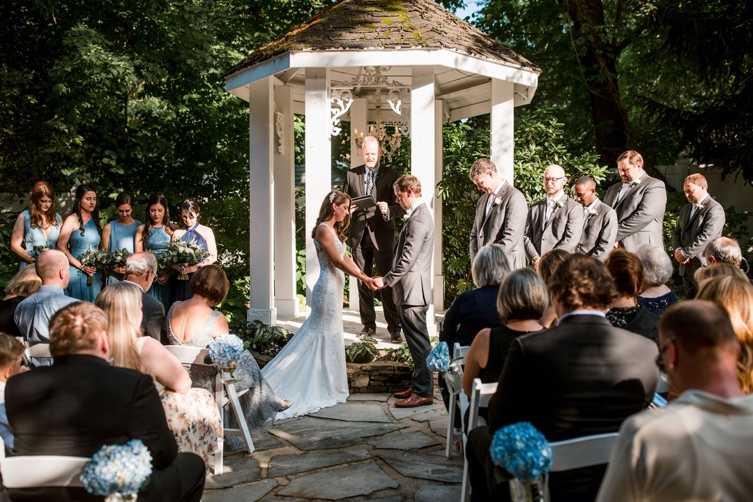 outdoor ceremony franklin tennessee