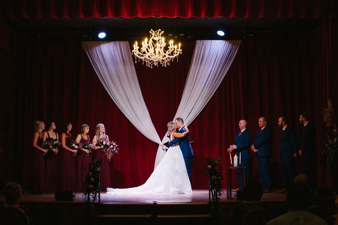 wedding ceremony at city winery nashville