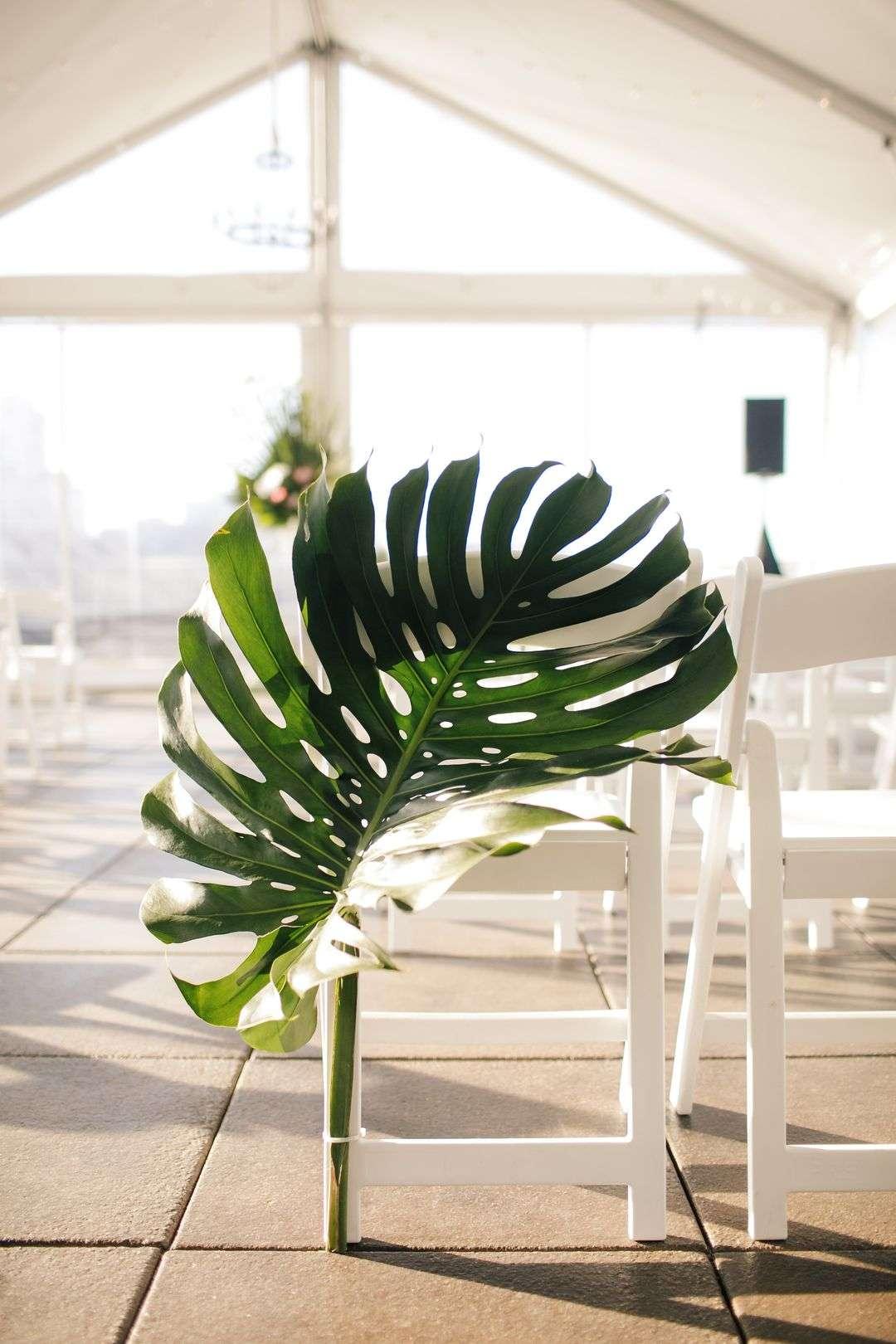 wedding ceremony aisle seat decor