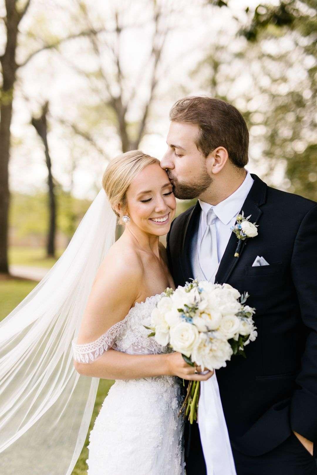 all white bridal bouquet wedding flowers