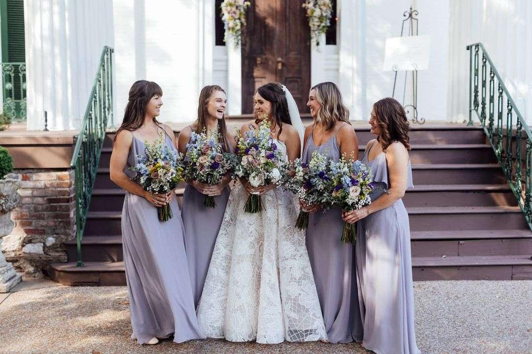 lavender bridal party