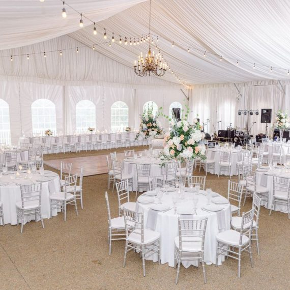 colorful wedding reception floral centerpieces